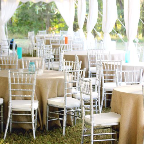 Silver Wedding Chairs Chiavaris