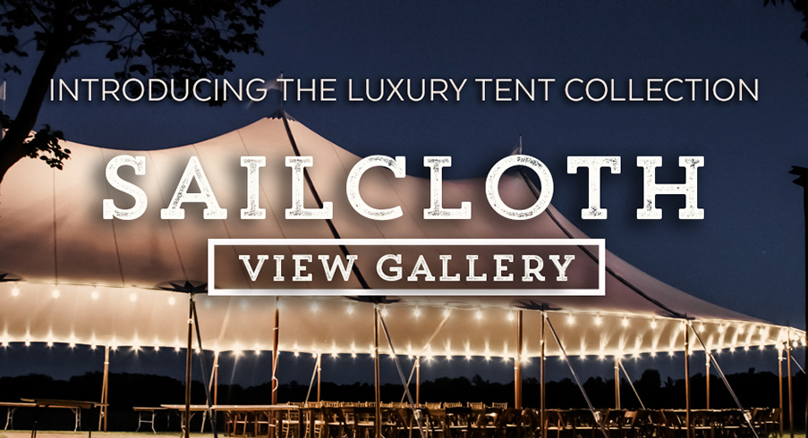 OE Luxury Sailcloth Tent collection