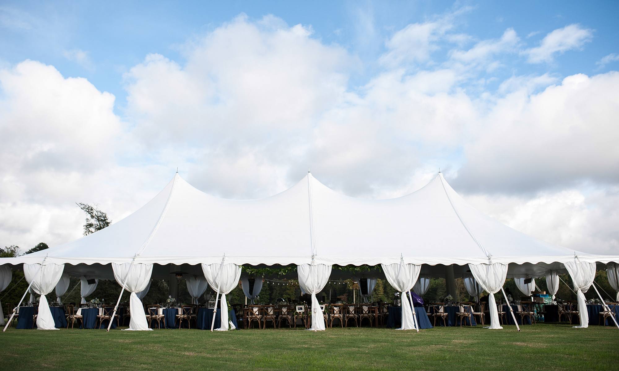 High Peak Pole Tents & LARGE HIGH PEAK POLE TENT RENTAL by Oconee Events | Athens GA
