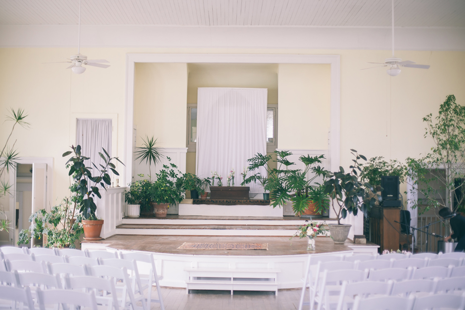 Ceremony at Lyndon House of Arts in Athens Georgia - Downtown UGA Event Rentals