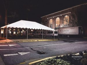 Oconee Events Tents Downtown Athens