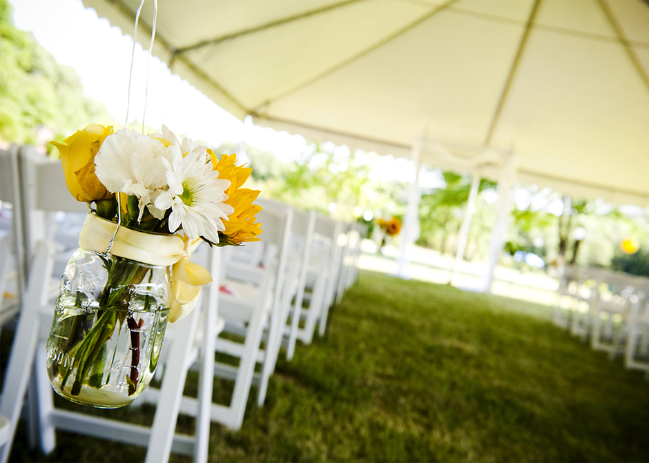 White Chairs - Tent - GRS