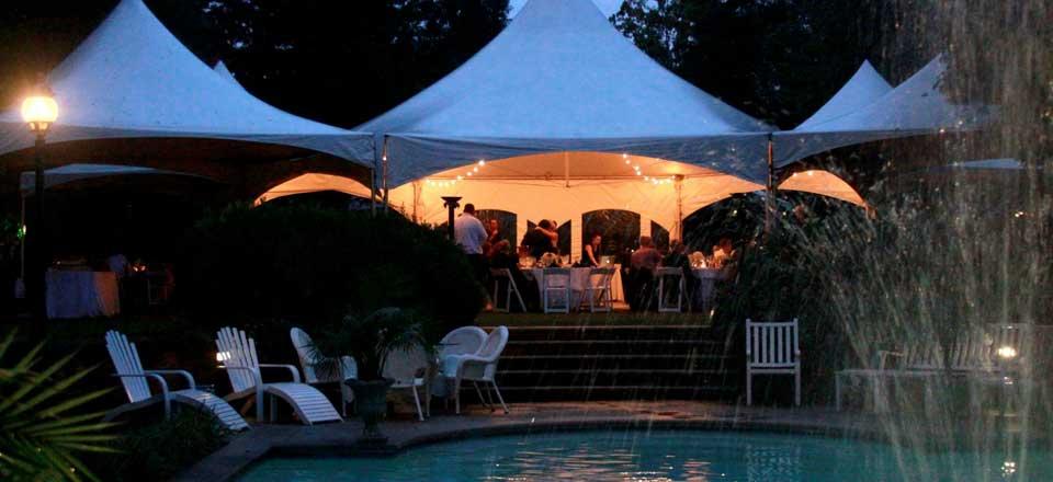 events oconee event rentals tents farm tables crossback chairs
