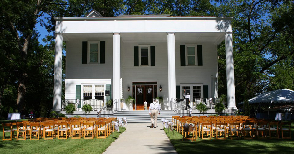 Wedding Ceremony At Goodwin Manor In Greensboro, GA