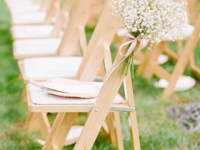 Natural Wooden Folding Chairs