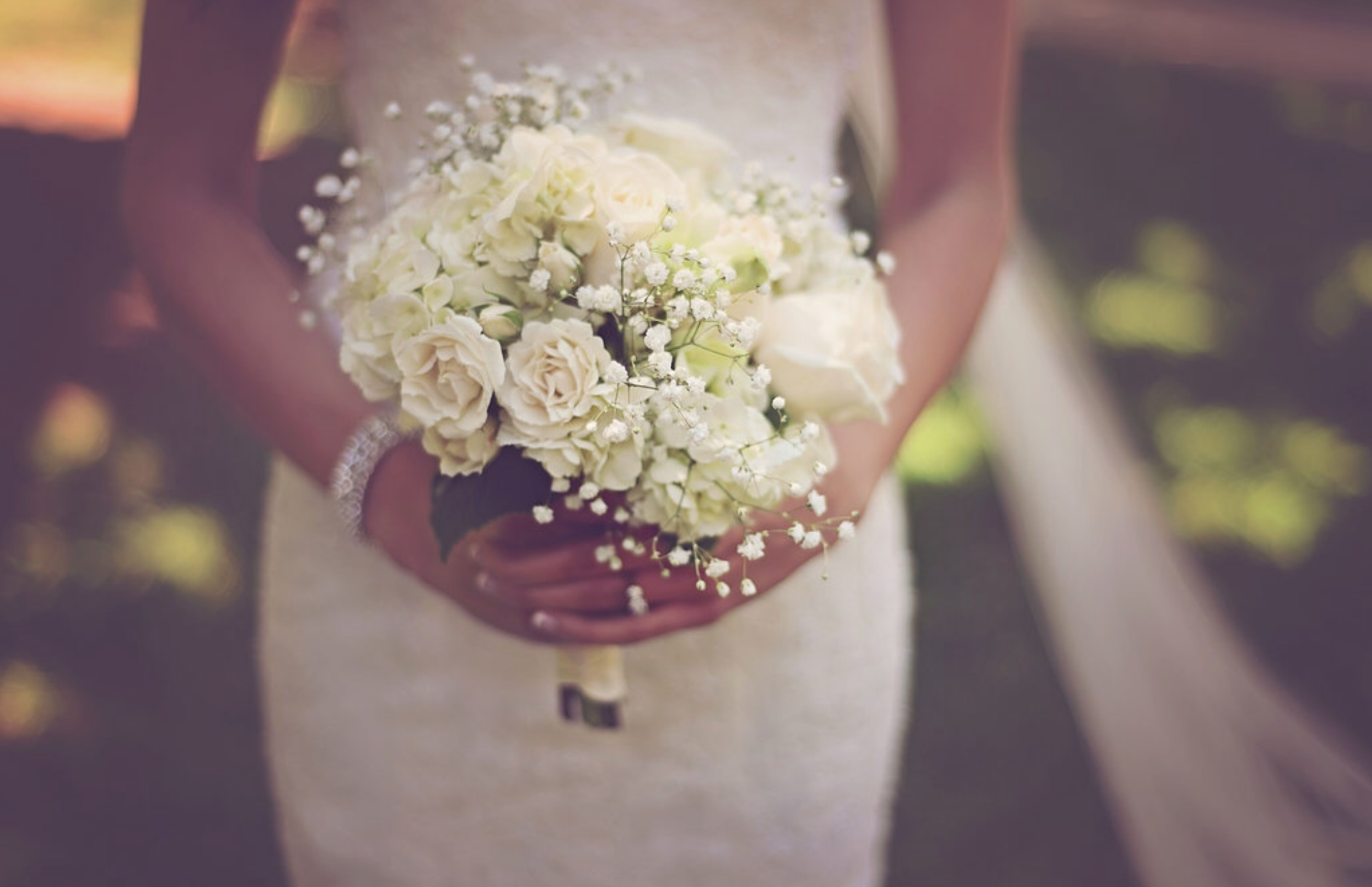 White Cream Bridal Bouquet Inspiration - Wedding Rentals Atlanta Georgia