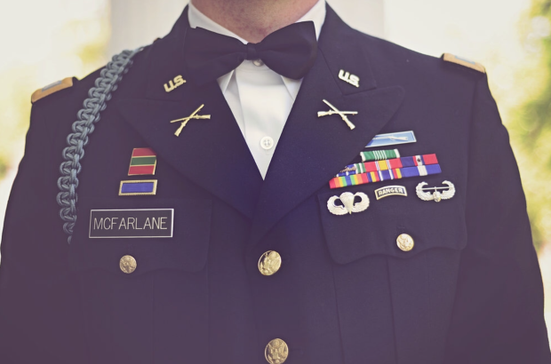 Traditional Military Wedding - Lake Oconee Wedding Rentals