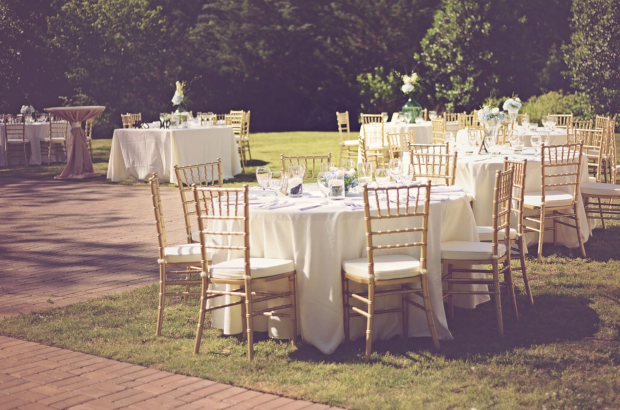 Chiavari Chair Rental Athens GA - Gold Wedding Reception