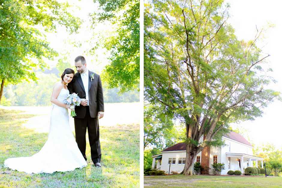 Spring Southern Wedding - John Oliver Michael House - Historic Farmhouse