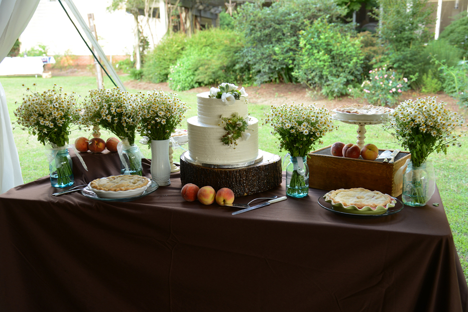 Oconee Events - Dessert Buffet Tables - Table and Chair Rental Georgia
