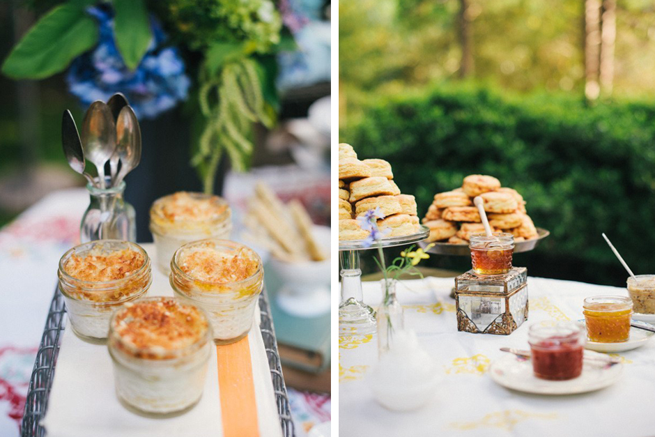 Oconee Events - FarmTables for Rent in Georgia - Biscuit Bar Wedding Ideas