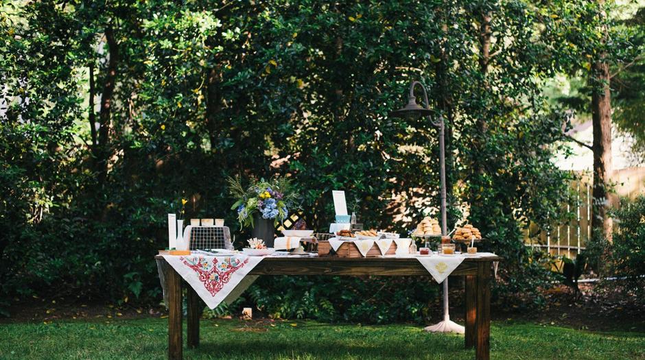 Oconee Events - Georgia Farm Table Rentals - Buffet Tables