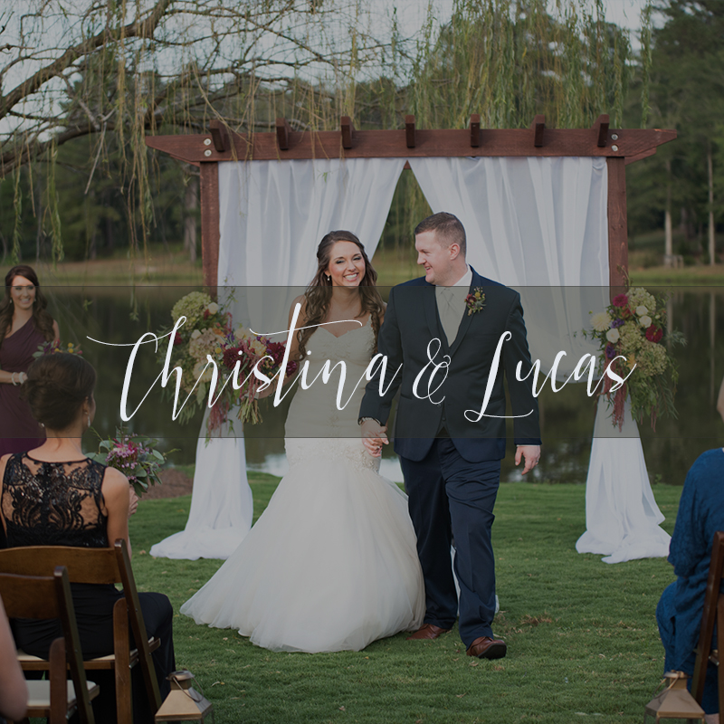 Christina Lucas Island Wedding Cover