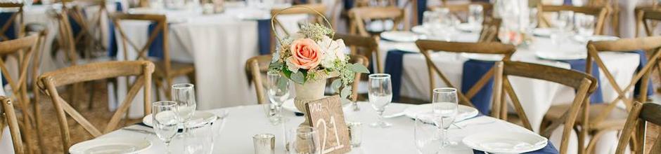 Oconee Events - Crossback Vineyard Chair Rental in Athens, GA