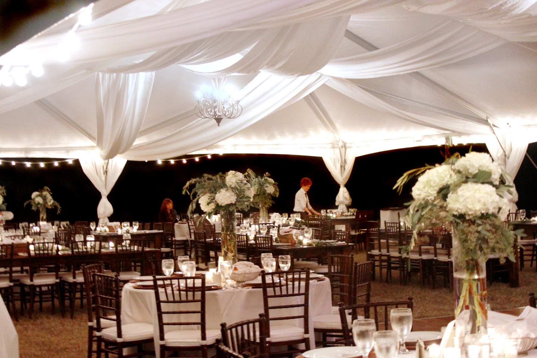 Frame Tents Oconee Event Rentals Tents Farm Tables