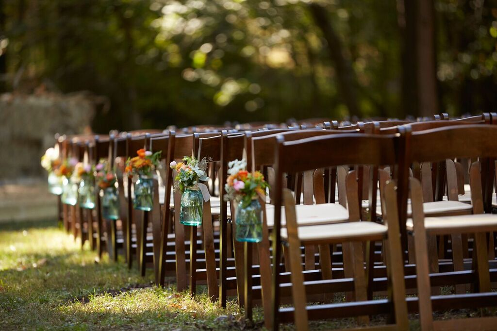 Oconee Events Folding Chair Rentals--Wedding Athens, GA