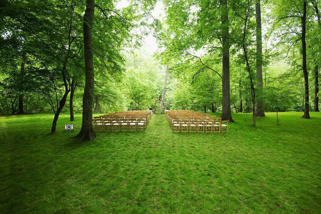 Oconee Events wooden chair rentals-- Wedding Athens, GA
