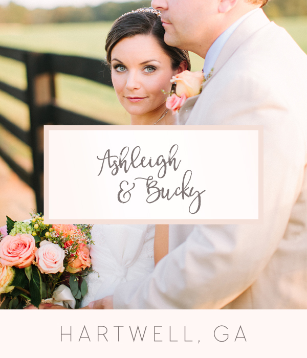 Oconee Events Ashleigh and Bucky Hartwell, GA