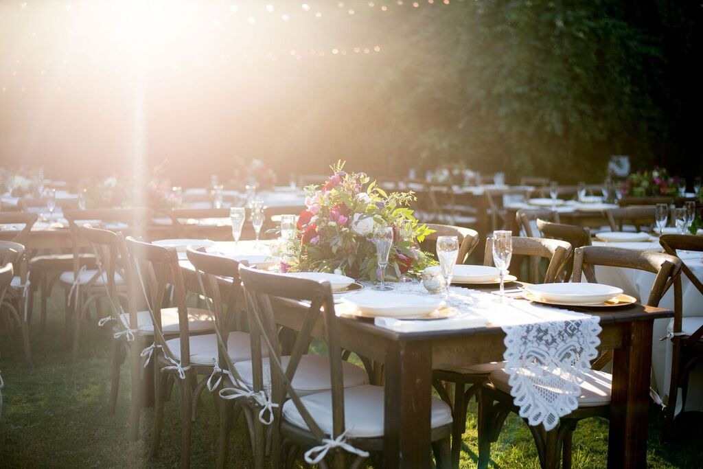 Oconee Events farm table rentals-- Events:Weddings Athens, GA