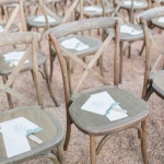 Oconee Events Crossback Chairs-- Wedding in Athens, GA