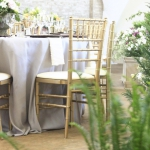 Gold Chiavari Chairs - Oconee Events - Watkinsville Weddings