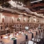 Oconee Events Gold Chiavari Chair at the Graduate Athens