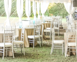 Oconee Events Silver Chiavari Chair Rentals