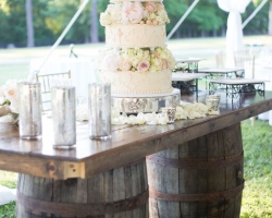 Oconee Events Farm Tables-- Wedding in Athens, GA