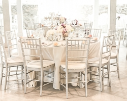 Oconee Events Silver Chiavari Chair Rental Athens ga