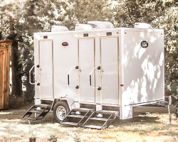 Oconee Events Nice Portable Restroom Trailer Rentals in Georgia