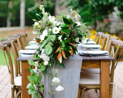 Oconee Events - Weddings - Farm Table Rental Athens, gA
