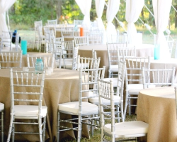 Silver Chiavari Chairs | Oconee Events