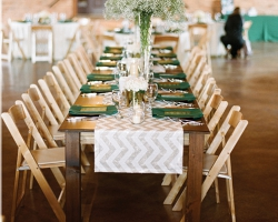 FARM TABLE RENTAL By Oconee Events Atlanta Athens And Lake Oconee - Natural wood farm table