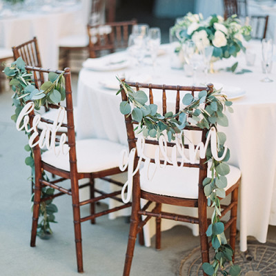 wooden wedding chair rental athens, ga