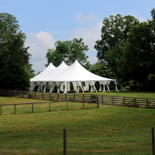 Pole Tent Rental | Oconee Events