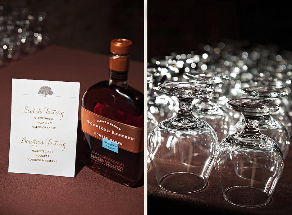 Oconee Events - Aged Whiskey Tasting at a Luxury Atlanta Wedding