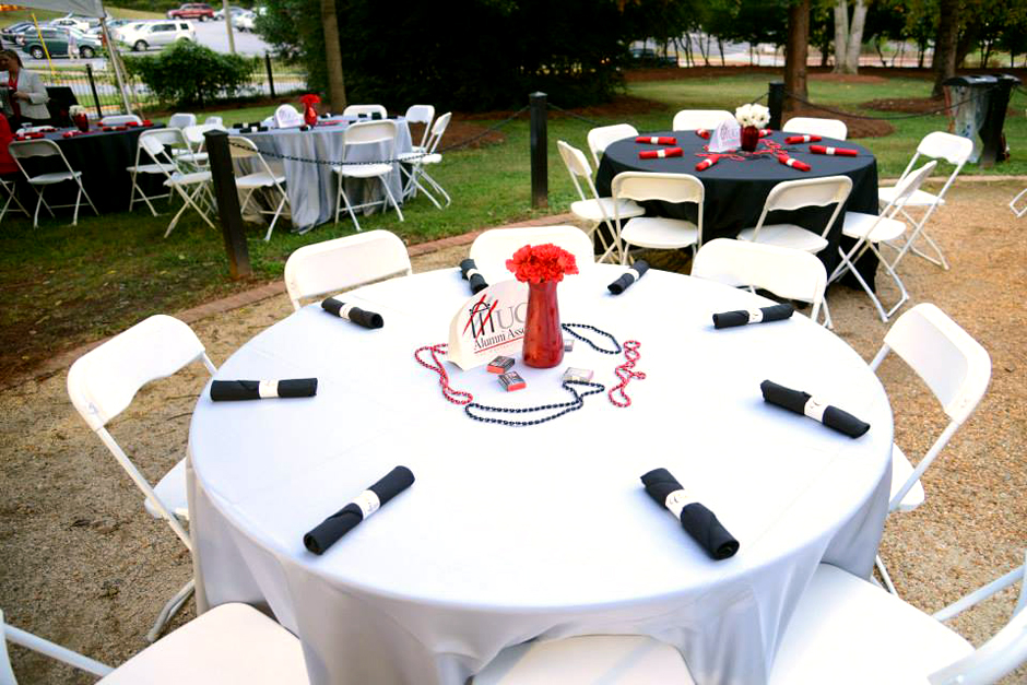 Oconee Events - Corporate Event Rentals in Athens, GA - University of Georgia Alumni Association Homecoming BBQ