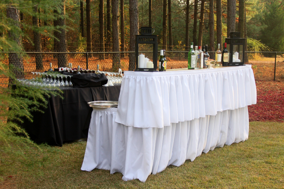 Oconee Events - Wedding Bar Setup in Monroe, GA