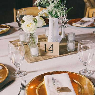 Charger rental weddings athens GA