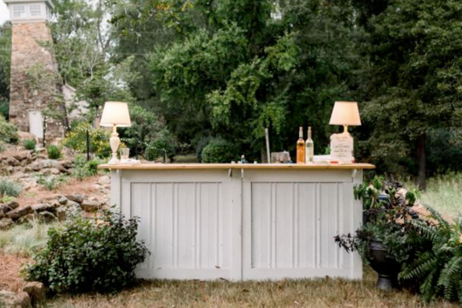 Rustic Bar Rental
