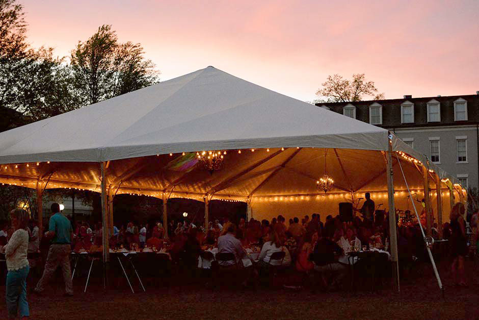 Parents Weekend Sorority Party at Herty Field UGA Tent ...