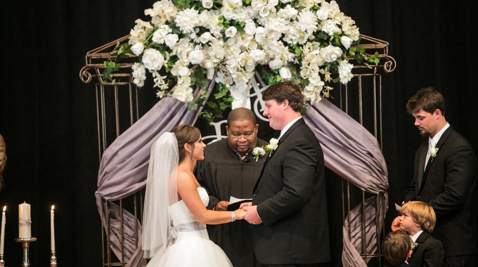 Ben Jones #60 for Houston Texans wedding - Athens GA Event Rentals