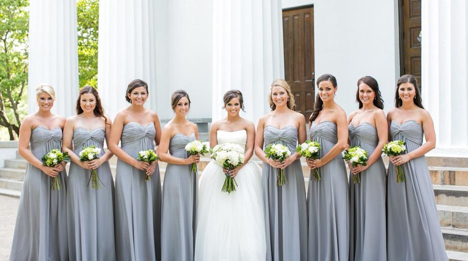 Bridesmaids dress ideas - UGA Alumni Event Rentals - Tents, Tables, Chairs