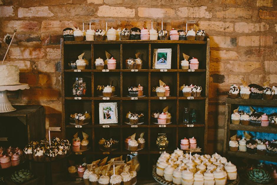 Cupcake Reception Display Ideas - Wedding Rentals Athens