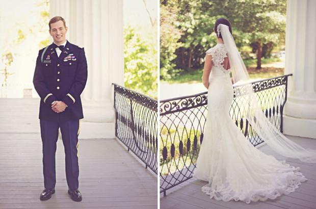 Elegant Military Wedding - UGA - Taylor Grady House Athens Georgia