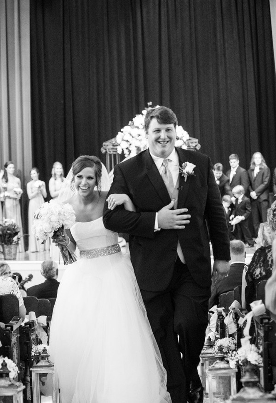 Houston Texans Player Ben Jones married at the University of Georgia campus chapel in July 2014 - Oconee Events used for rentals