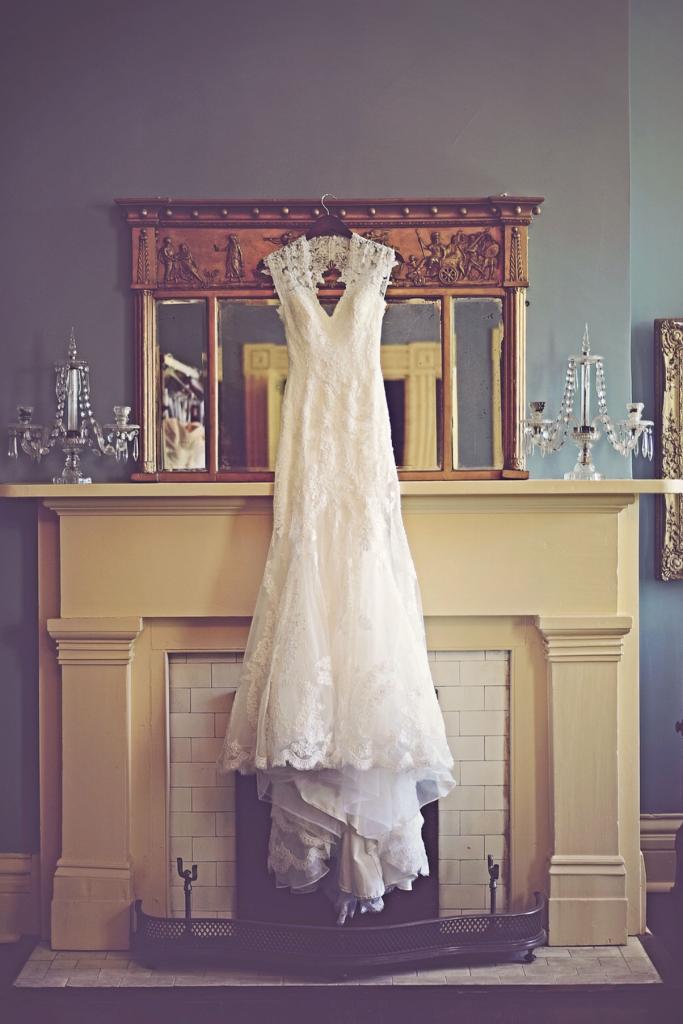 Elegant Lace Wedding Dress - Taylor Grady House