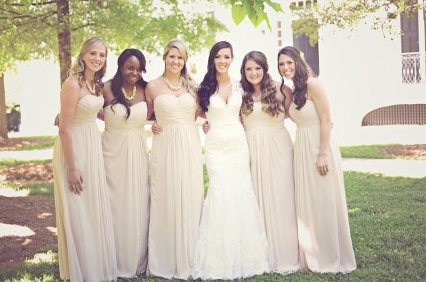 Bridesmaids Dress Ideas - Athens Georgia Wedding Tent Rentals