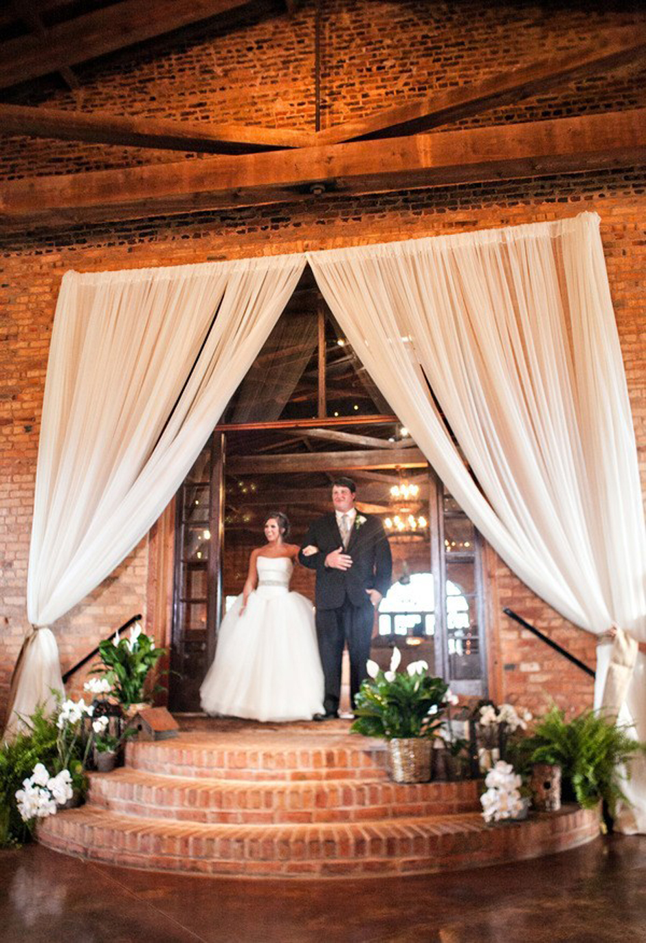 UGA Chapel Wedding and Reception Rentals - Drapery Tables Chairs Tents
