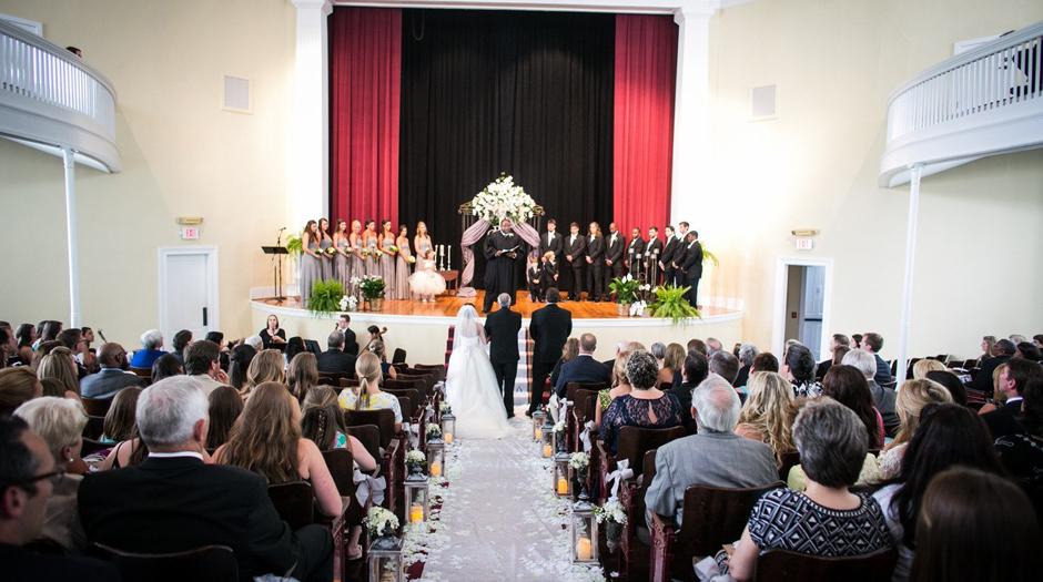 University of Georgia Chapel - UGA Chapel Wedding - North Campus Events - Table, Chair, tent rentals UGA